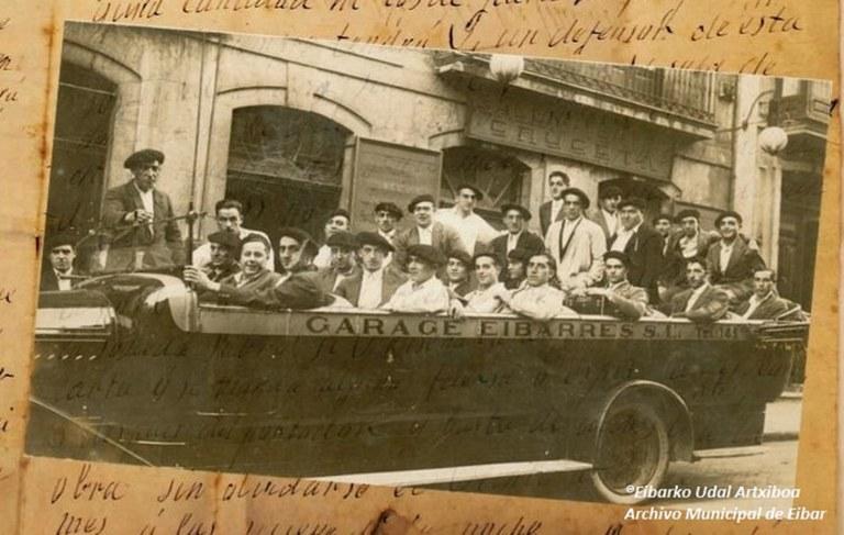 Archivo Municipal de Eibar. Conmemoración del 675 de la fundación de la villa de Eibar.