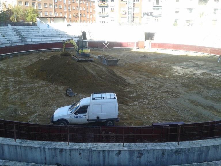 Arrancan las obras de adecuación de la plaza de toros