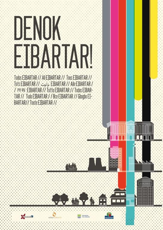 """""""Denok eibartar!"""", una campaña de sensibilización para luchar contra el racismo y la xenofobia"""