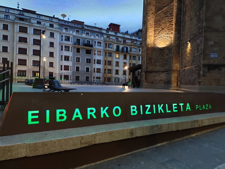 Imagen de Eibarko Bizikleta Plaza.