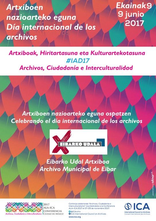 """El Archivo municipal celebrará el 9 de junio el Día Internacional de los Archivos bajo el lema """"Archivos, ciudadanía e interculturalidad"""""""