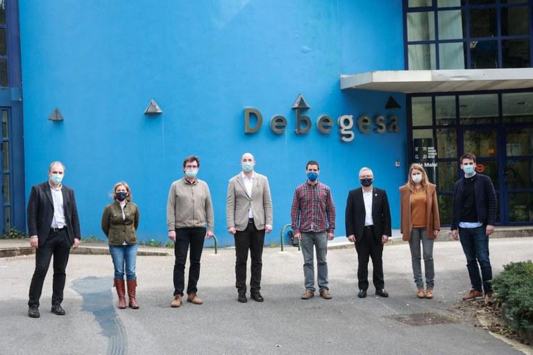 Presentación en Debegesa del proyecto Cooperativas Ciudadanas Energéticas.