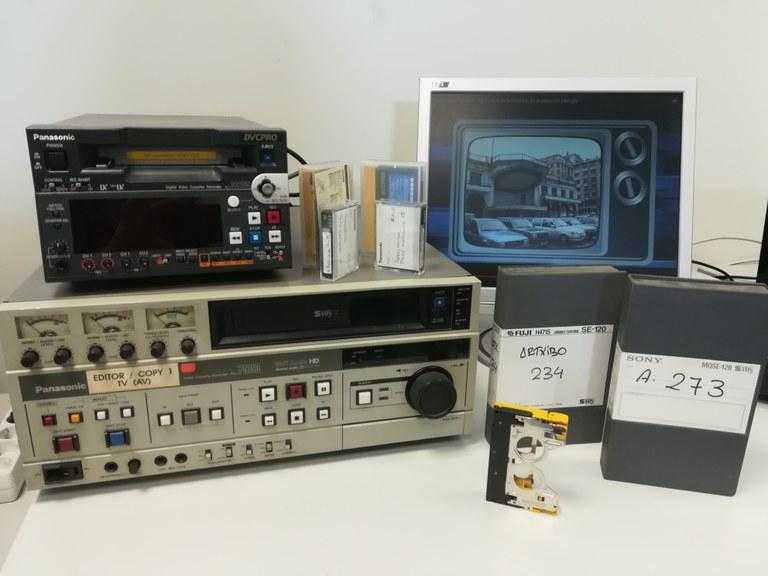 El Archivo Municipal de Eibar recibe el archivo de imágenes de la televisión local de la KTB