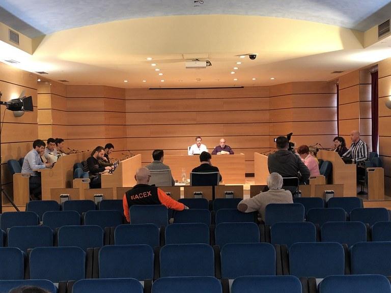 Esta tarde se celebrará una sesión extraordinaria del Pleno Municipal
