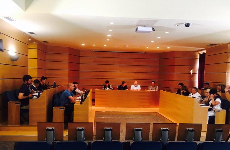 Hoy lunes, 25 de septiembre, se celebra el pleno ordinario municipal de este mes