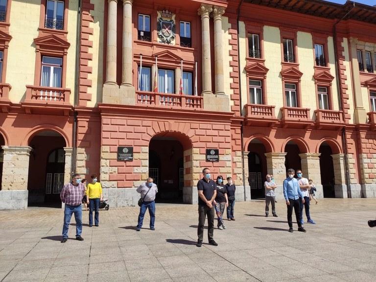 Imagen de los representantes municipales.