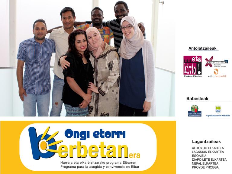 Primera reunión del programa Ongi Etorri Berbetanera!