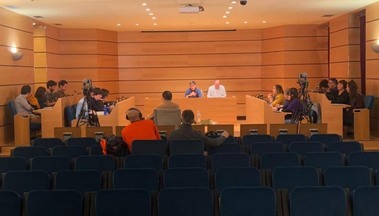 Imagen del Pleno Municipal, celebrado el 24 de febrero de 2020.