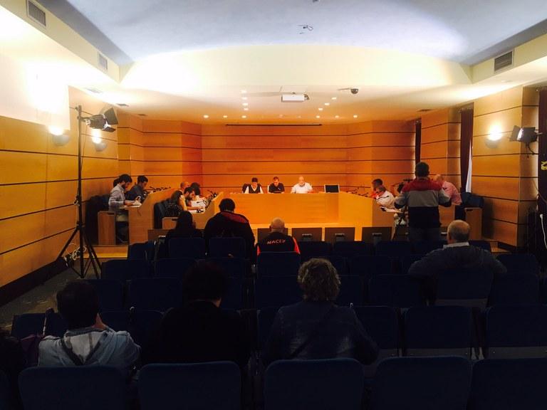 Propuestas aprobadas por el Pleno Municipal del 25-9-2017