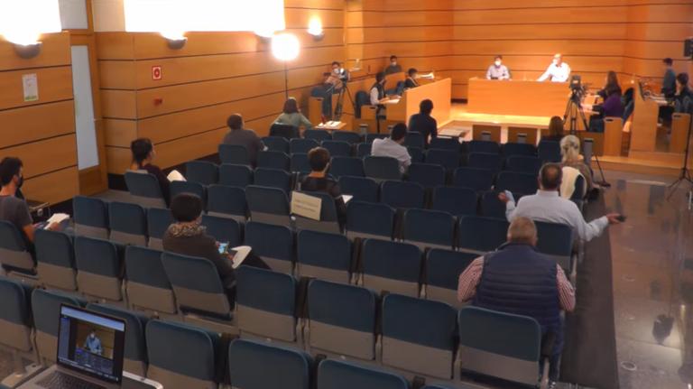 Pleno Municipal celebrado el 28 de septiembre de 2020.