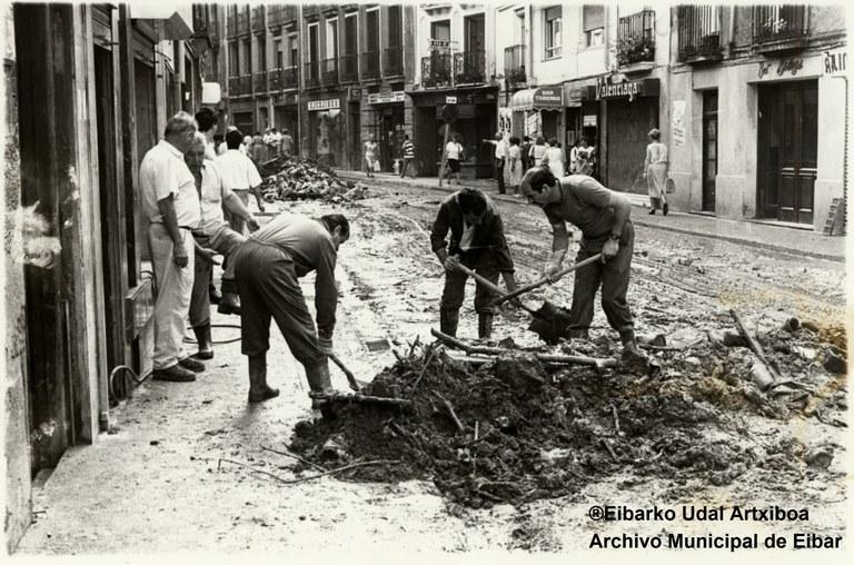 Recordando las inundaciones de julio de 1988