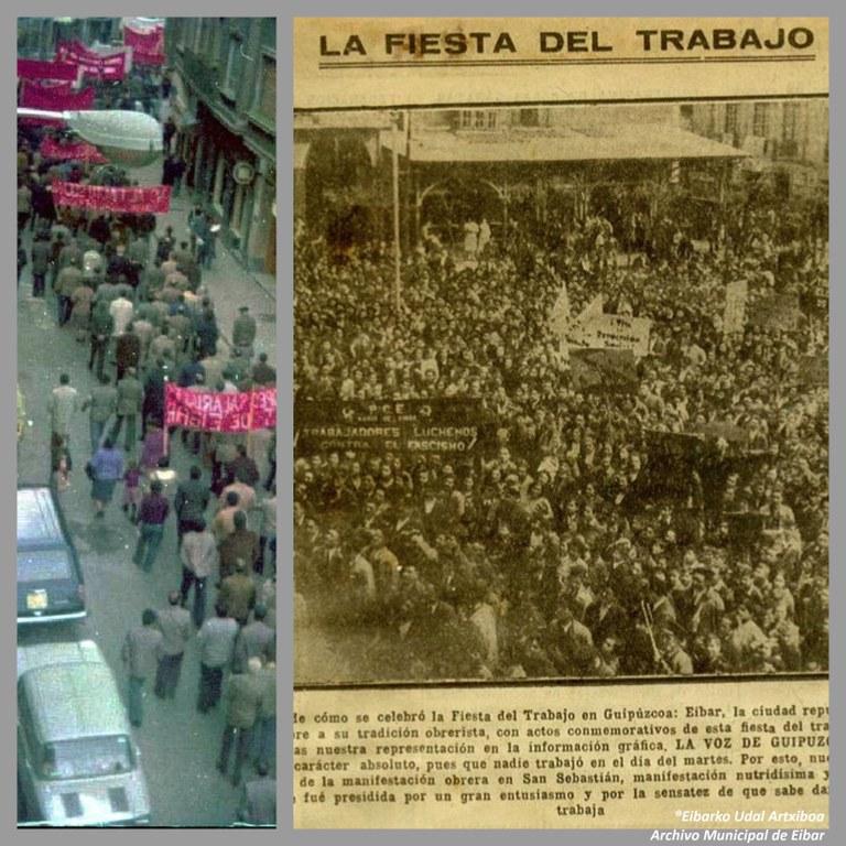 ¿Sabías que fue en 1904 cuando en Eibar se celebró por primera vez la fiesta del Primero de Mayo?