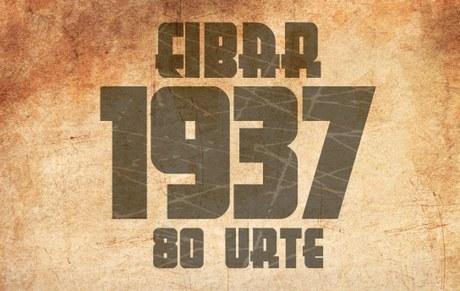 EIBAR 1937 . 80 URTE