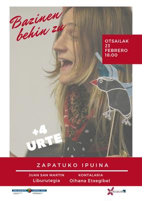 El cuento del sábado: Bazinen behin zu