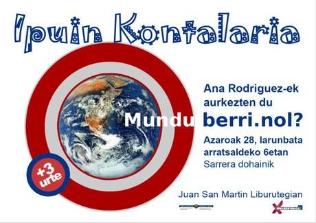 El cuento del Sábado - Mundu Berri.nol?