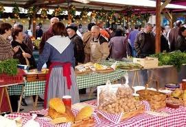 Feria de artesanía y de productos agrícolas