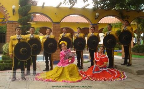 Mariachi Imperial  Elegancia Mejicana