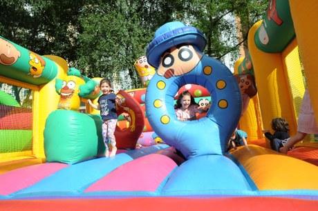 Parque infantil de hinchables