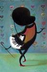 Pianoaz dantza