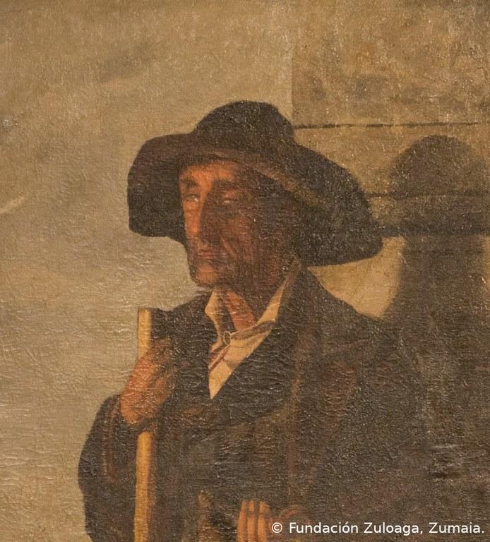 El ciego de Arrate. © Fundación Zuloaga, Zumaia.