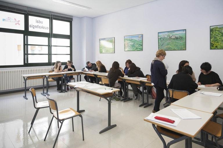 Abierto el plazo de matrícula en el Euskaltegi Municipal de Eibar hasta el 17 de febrero
