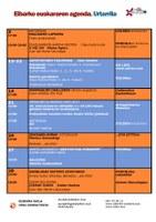 Agenda del euskera. Enero.