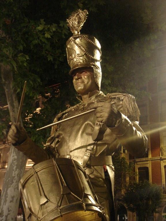 Arrancan las Jornadas de Teatro con la XIV Muestra de Estatuas Humanas