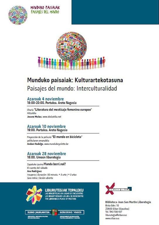 Campaña Paisajes del mundo: Interculturalidad