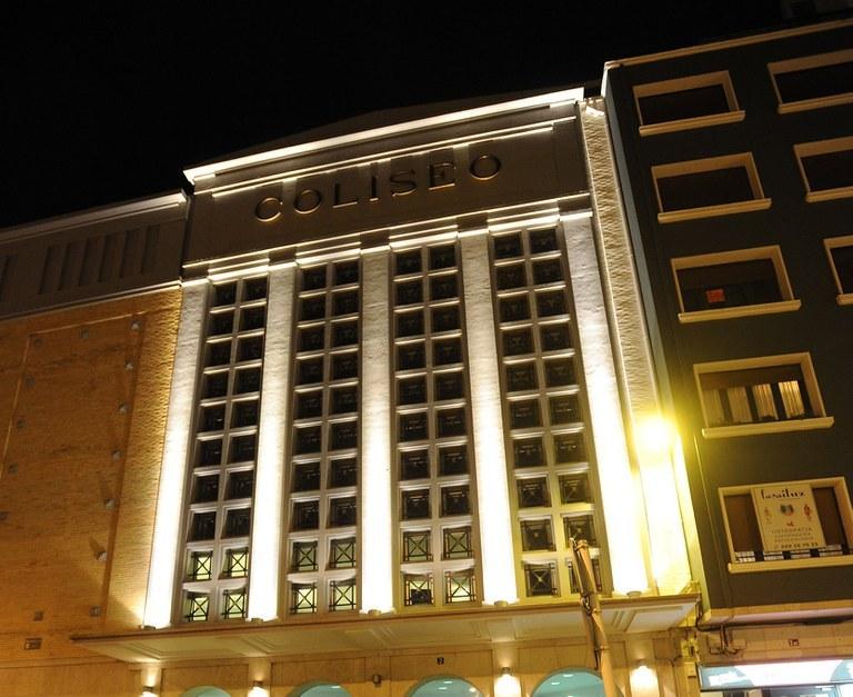 Teatro Coliseo. Imagen de archivo.