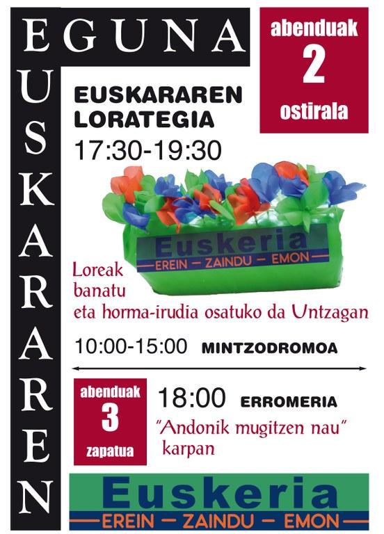 Día Internacional del Euskera