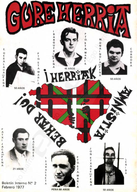 Ego Ibarra digitaliza varios números de la revista Gure Herria editada por la asociación de vecinos Gure Herria en los años 70, los Estatutos de la Asociación y otros documentos.