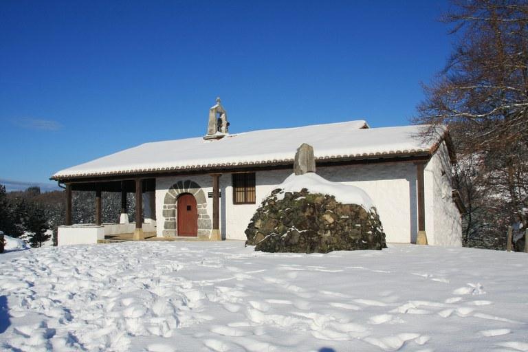 Ermita de Santa Cruz. Fotografía: Periko Iriondo.