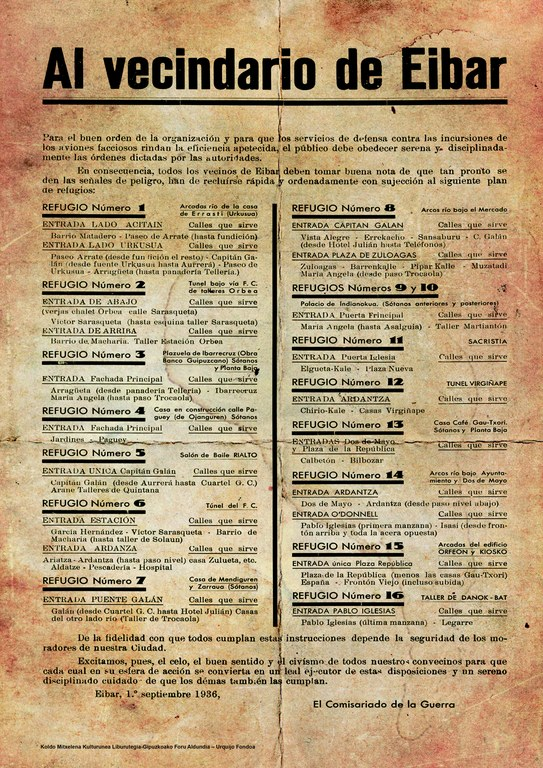 Eibar 1937: 80 urte