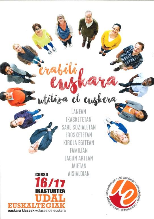 El 3 de octubre comenzarán las clases en el Euskaltegi Municipal