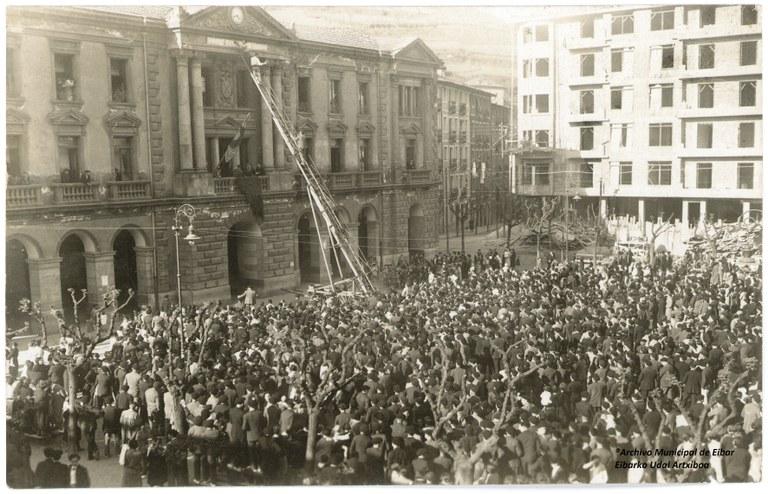 El Ayuntamiento de Eibar organiza diversas actividades, con motivo del 90º aniversario de la proclamación de la II República