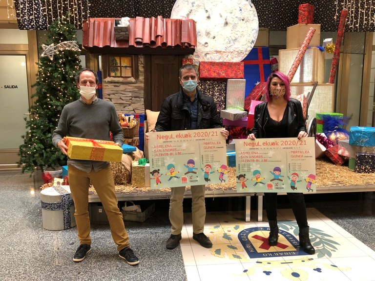 Imagen de la presentación de actividades de navidad para niños/as.