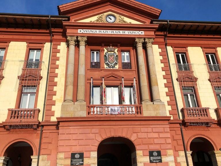 Imagen del Ayuntamiento de Eibar.