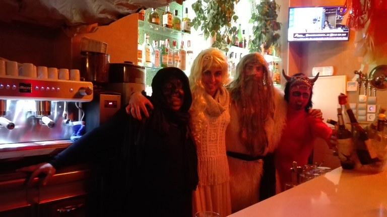 El bar Guridi, ganador del concurso de bar mejor decorado en Carnaval