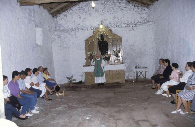 El conjuro de Akondia, una de los ritos más antiguos de Eibar,  se celebrará el día 3 de julio en la ermita de San Pedro de Akondia.
