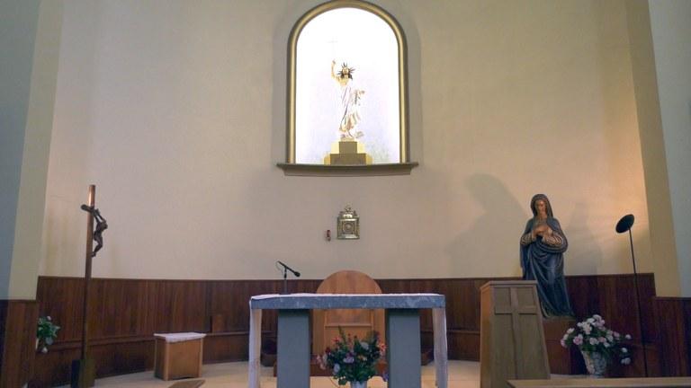 El convento y la iglesia de las Hermanas Concepcionistas de Ipurua: la comisión Ego Ibarra hace la grabación completa del edificio