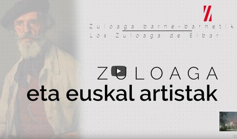 """El documental """"Zuloaga eta euskal artistak"""" en la red en el Día Internacional del Euskera"""