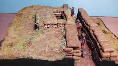 El domingo se presenta la maqueta del nido de ametralladoras de Akondia en Arrate