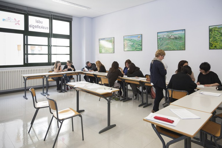 Las clases en el Euskaltegi Municipal comenzarán el 1 de octubre