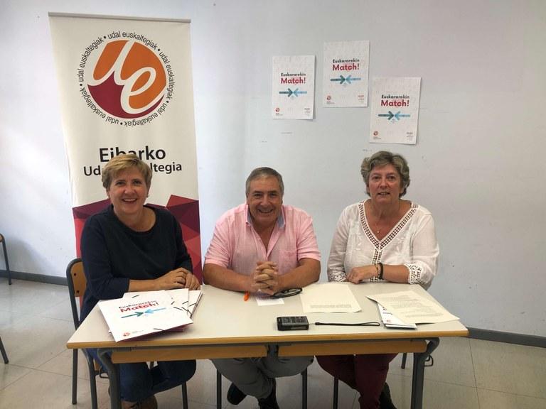 El Euskaltegi Municipal ha acogido la presentación del curso 2019-2020