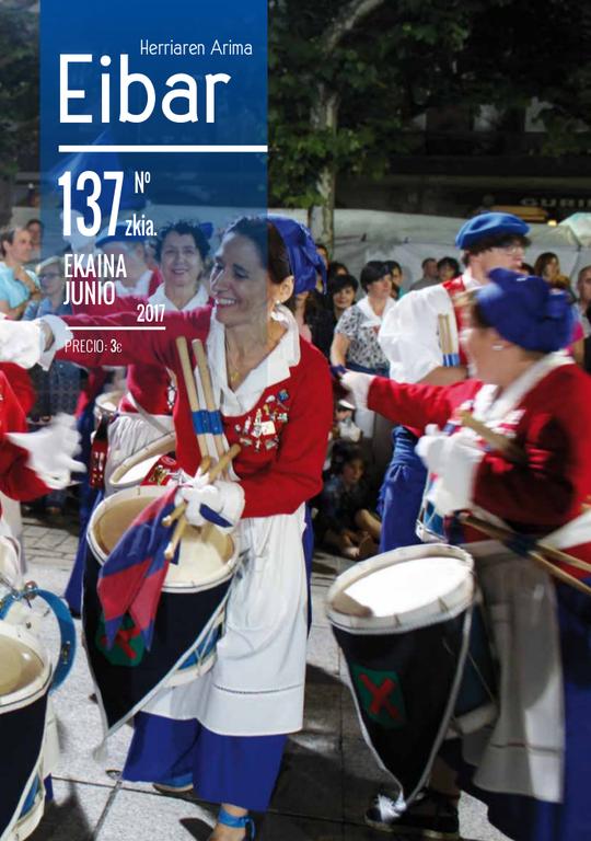 El número de junio de la revista Eibar ya está en la calle