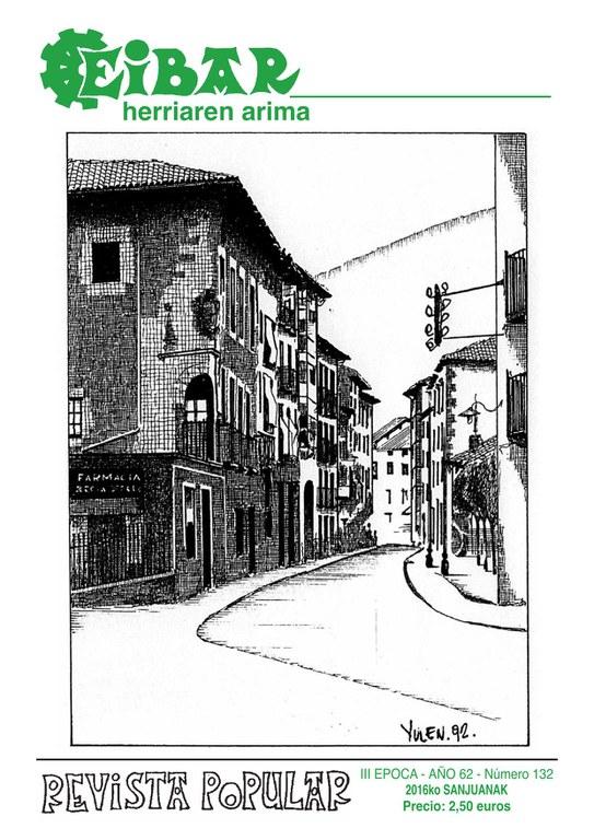 El último número de la revista Eibar correspondiente al mes de junio de 2016, ya está en la calle