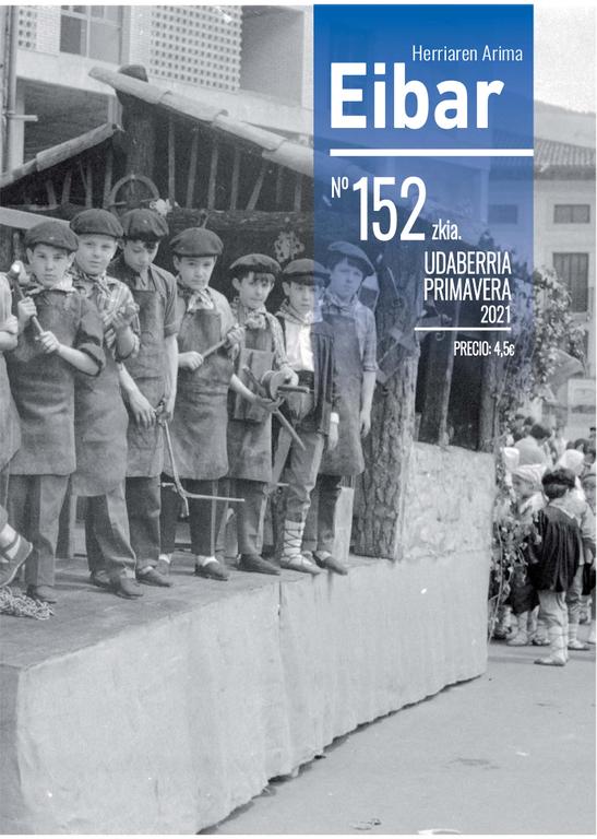 El último número de la revista Eibar en la calle y en esta web