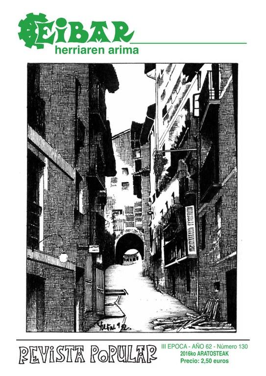 El último número de la revista Eibar en la calle