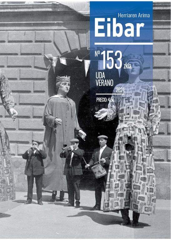 El último número de la revista Eibar, número 153, en la calle y en esta web, en un clic.