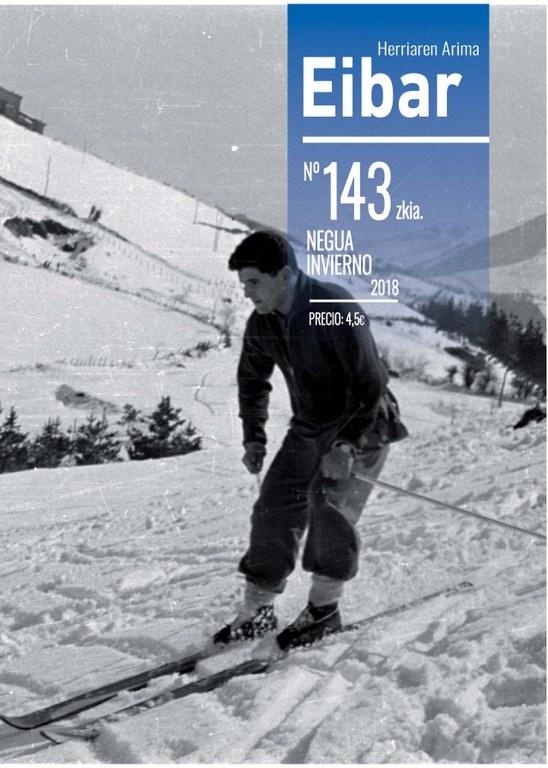 El último número de la revista Eibar, publicada ininterrumpidamente desde el año 1952, ya está en la calle y en la red